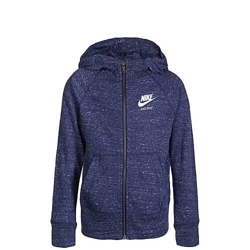 Nike Gym Vintage Trainingsjacke Kinder blau / weiß