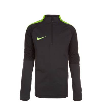 Nike Shield Strike Drill Funktionssweatshirt Kinder schwarz / grün
