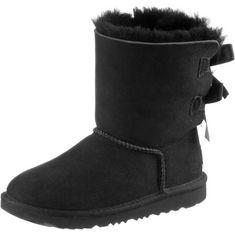 Ugg K Bailey Bow Stiefel Kinder black