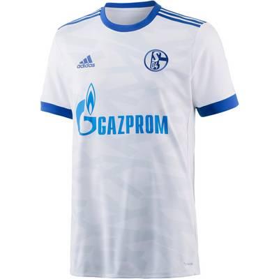 adidas Schalke 04 17/18 Auswärts Fußballtrikot Herren white