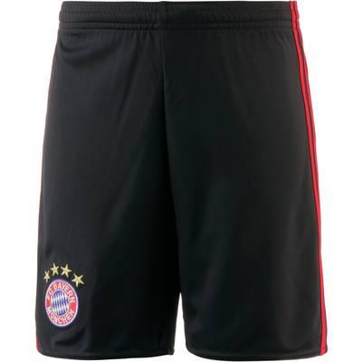 adidas FC Bayern 17/18 Heim Fußballshorts Kinder black