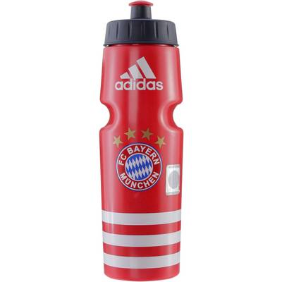 adidas FC Bayern Trinkflasche FCB TRUE RED