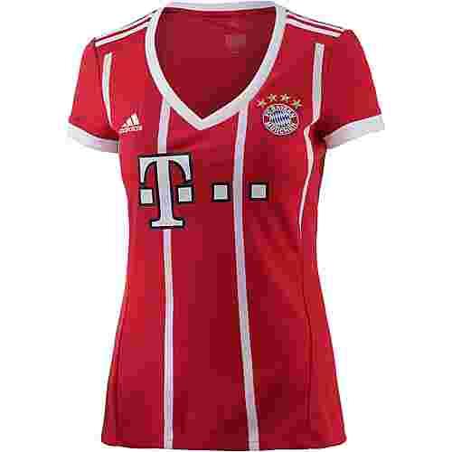 adidas FC Bayern 17/18 Heim Fußballtrikot Damen FCB TRUE RED