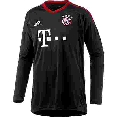 adidas FC Bayern 17/18 Heim Torwarttrikot Herren black