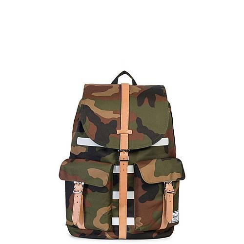 Herschel Dawson Daypack oliv / braun / weiß