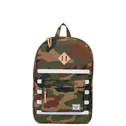 Herschel Heritage Daypack oliv / braun / weiß