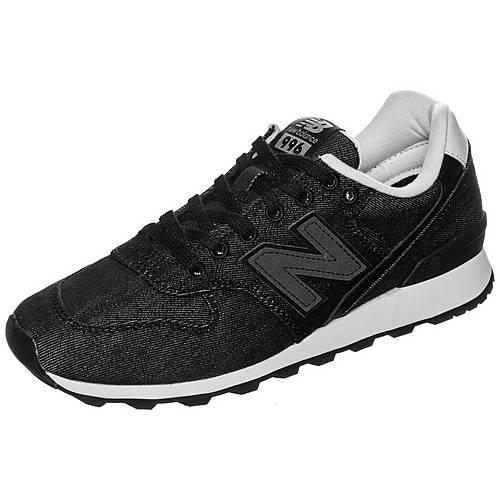 NEW BALANCE WR996-DB-D Sneaker Damen schwarz / weiß