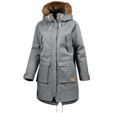WEARCOLOUR Halo Parka Damen Grey Melange
