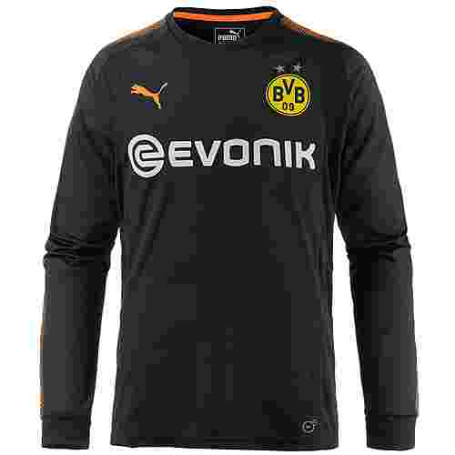 PUMA Borussia Dortmund 17/18 Fußballtrikot Herren Puma Black-Fluo Orange