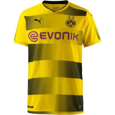 PUMA Borussia Dortmund 17/18 Heim Fußballtrikot Herren Cyber Yellow-Puma Black