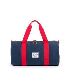 Herschel Sutton Mid-Volume Duffel Sporttasche dunkelblau / rot