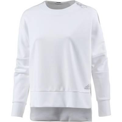 adidas Sweatshirt Damen white