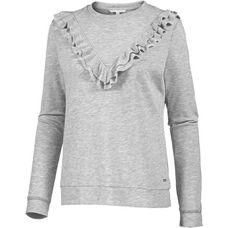 TOM TAILOR Sweatshirt Damen light silver grey