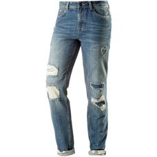 TOM TAILOR Boyfriend Jeans Damen mid stone wash denim