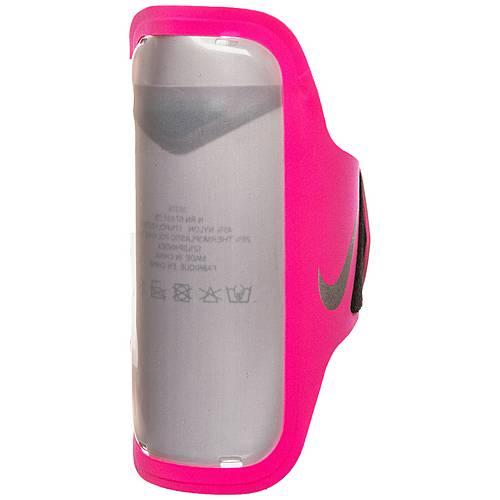 Nike Ventilated Armtasche pink / grau