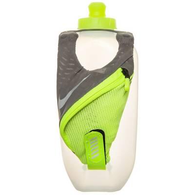 Nike Large Handheld Trinkflasche neongelb / grau