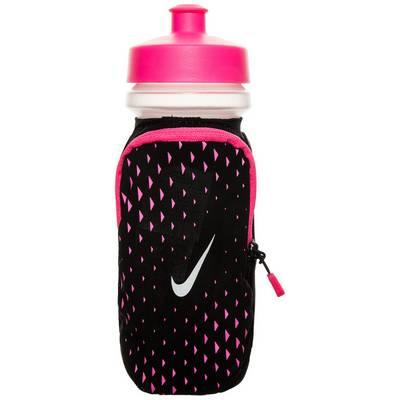 Nike Large Handheld Trinkflasche pink / schwarz