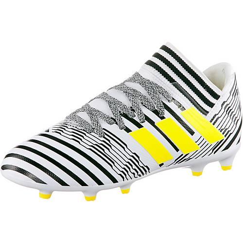 adidas NEMEZIZ 17.3 FG J Fußballschuhe Kinder ftwr white