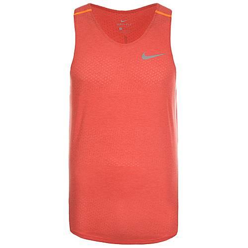 Nike Breathe Tailwind Funktionstank Herren rot