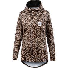 Eivy Icecold Hood Langarmshirt Damen Leopard