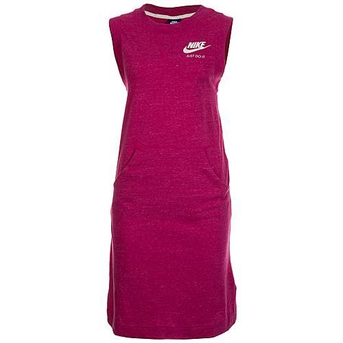 Nike Gym Vintage Jerseykleid Damen fuchsia / weiß