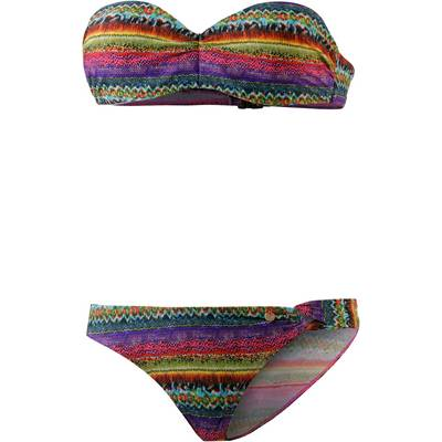 Maui Wowie Bandeau Bikini Damen gelb/bunt