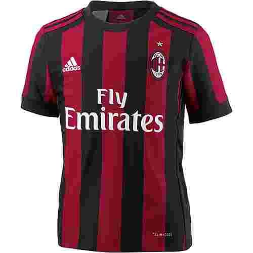 adidas AC Mailand 17/18 Heim Fußballtrikot Kinder VICTORY RED