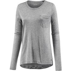 Bench Langarmshirt Damen winter grey marl