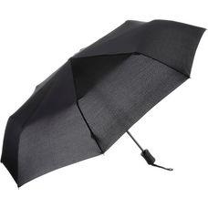 Kompliment Taschenschirm Regenschirm schwarz