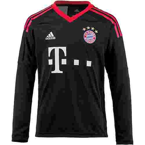adidas FC Bayern 17/18 Heim Fußballtrikot Kinder black