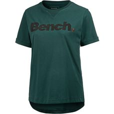Bench T-Shirt Damen dark green