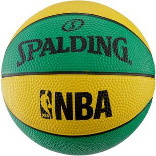 Spalding NBA Miniball grün-gelb