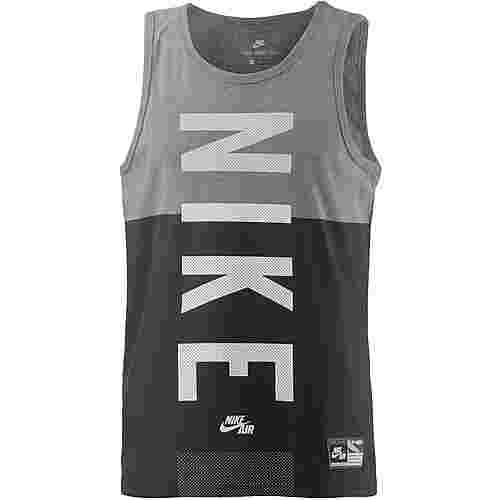 Nike Tanktop Herren grau/schwarz