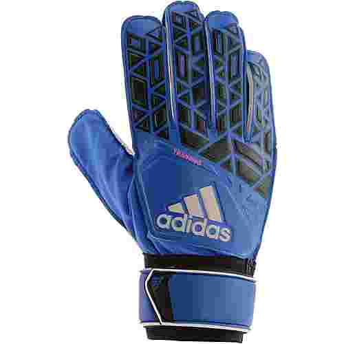 adidas ACE Torwarthandschuhe Herren blue-core-black-white-shock-pink