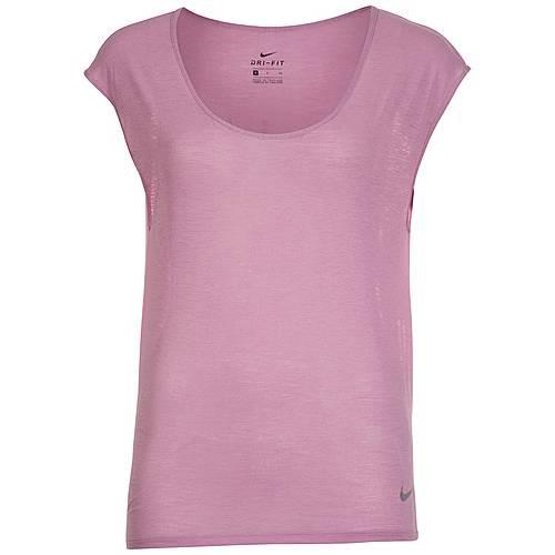 Nike Breathe Laufshirt Damen violett