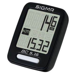 SIGMA BC 5.16 Fahrradtacho schwarz
