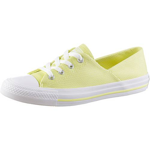CONVERSE Chuck Taylor All Star Coral Ox Sneaker Damen gelb