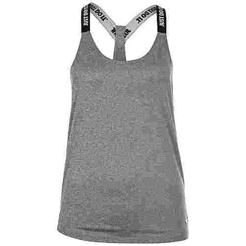 Nike Dry Funktionstank Damen grau / weiß