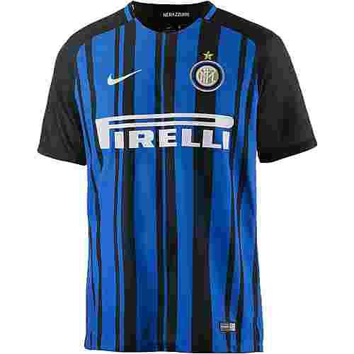 Nike Inter Mailand 17/18 Heim Fußballtrikot Herren schwarz/blau