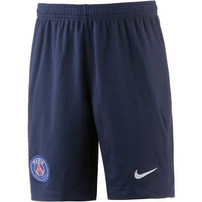 Nike Paris Saint-Germain 17/18 Heim Fußballshorts Kinder blau/weiß