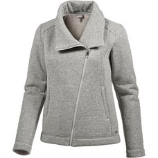 Bench Strickfleece Damen winter grey marl