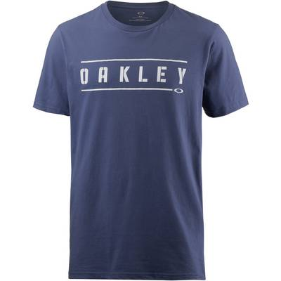 Oakley DOUBLE STACK T-Shirt Herren Blue Indigo