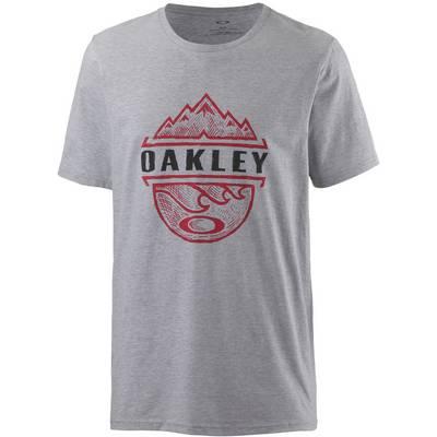 Oakley BICOASTAL TOO T-Shirt Herren Heather Grey