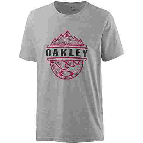 Oakley BICOASTAL TOO T-Shirt Herren Heather Grey