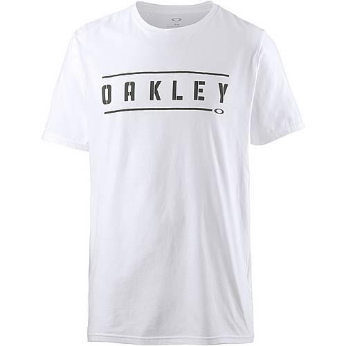 Oakley DOUBLE STACK T-Shirt Herren White