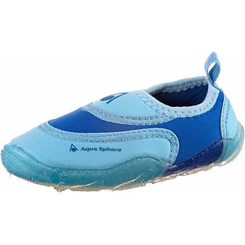 Aqua Sphere Beachwalker Kids Wasserschuhe Kinder blau/hellblau