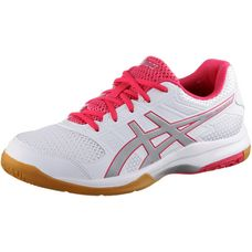 ASICS GEL-ROCKET 8 Hallenschuhe Damen white-rouge red-silver