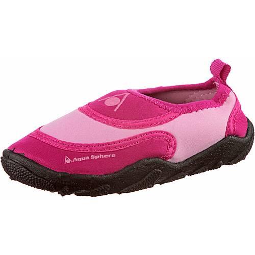 Aqua Sphere Beachwalkter Kids Wasserschuhe Kinder pink rosa