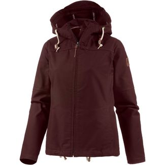 Forvert Chicago Kapuzenjacke Damen bordeaux