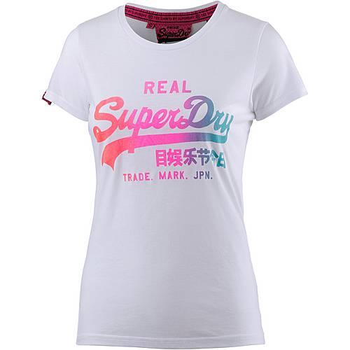 Superdry T-Shirt Damen weiß